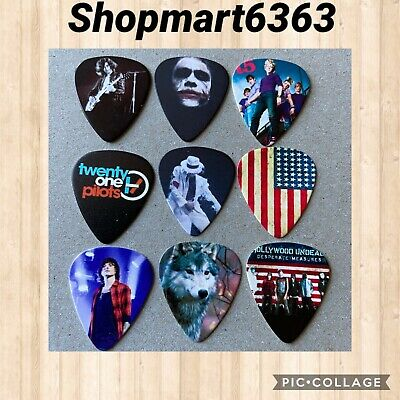 $ CDN8.95 • Buy Lot Of 9  Collectible 🎸MIXED 🎸  Guitar Picks Brand New # 318