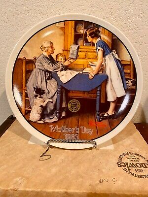 $ CDN48.01 • Buy Lot (6) Knowles Norman Rockwell Collector Plates Limited Edition W/boxes & COA's