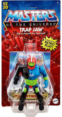 $32 • Buy RARE - He-Man & Masters Of The Universe ORIGINS Trap Jaw (Trapjaw) 5.5-In Figure