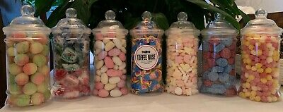 Old School Quality Retro Traditional Confectionery In 500ml Victorian Sweet Jars • 8.99£