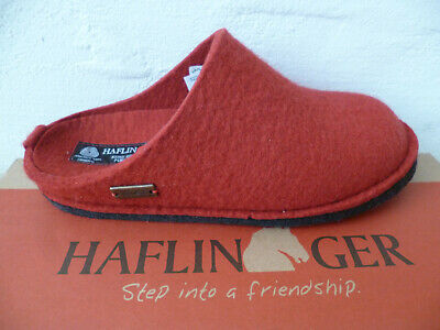Haflinger Ladies Slippers House Shoes Mules Red New • 59.52£