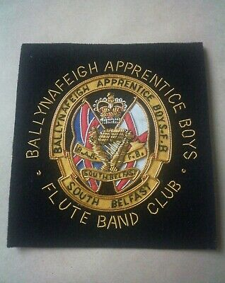 Old Ballynafeigh Apprentice Boys Flute Band Club Patch. • 6£