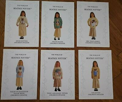 Beatrix Potter Collection. Knitting Patterns. • 5£