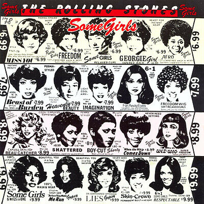 The Rolling Stones Some Girls CD Album 1987 CBS 450197 2VGC • 19.85£