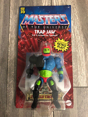 $33.50 • Buy Mattel Masters Of The Universe Origins Trap Jaw (NEW) (Unpunched)