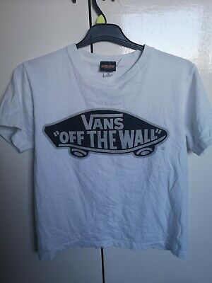 Vans Off The Wall T Shirt Size M White • 1.89£