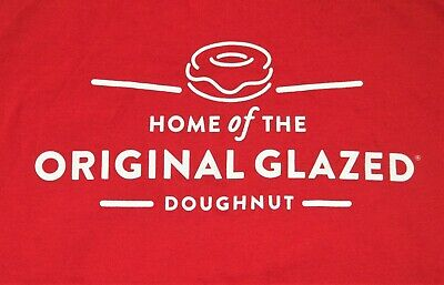 $12.95 • Buy Krispy Kreme T-Shirt Adult M Medium Home Of The Original Glazed Doughnut