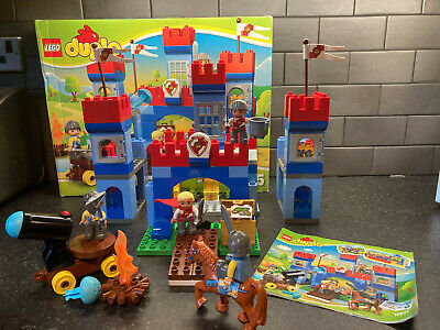 Lego Duplo - Big Royal Castle 10577 - 100% Complete With Box And Instructions • 49.99£