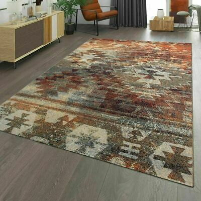 Modern Bohemian Rug Oriental Classic Decor Living Room Carpet Multi Coloured Mat • 24.90£