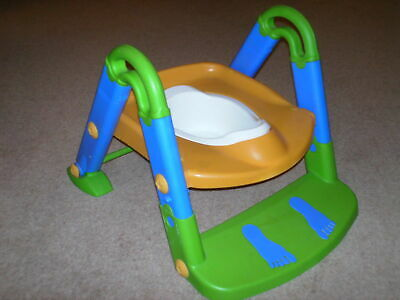 Toilet Trainer Potty Toddler Child Step Up Ladder, Seat Reducer • 4.95£