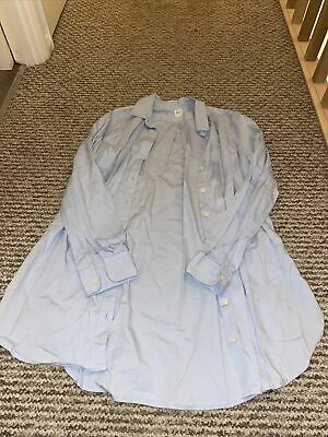 Gap Maternity Nursing Blue Shirt XS (will Fit 8-10)  • 2£
