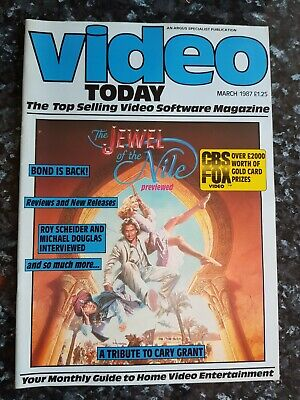 Video Today Magazine - March 1987 - Jewel Of The Nile • 1.99£