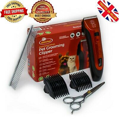 £29.99 • Buy Dog Clipper Pet Grooming Shaver Kit Cordless Electric Trimmer Set Animal Hair