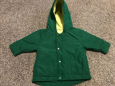 Next Baby Boys Up To 3 Months 0-3 Months Green Winter Coat  • 0.99£