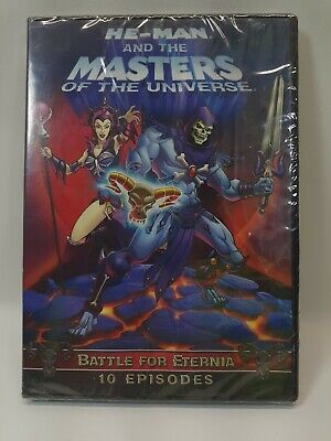 $14.90 • Buy He-Man And The Masters Of Universe: Battle Of Eternia DVD Sealed