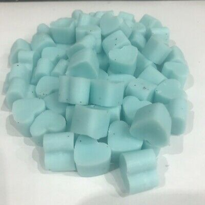30 X Mini Hearts Highly Scented Soy Wax Melts FREE P&P • 2.85£