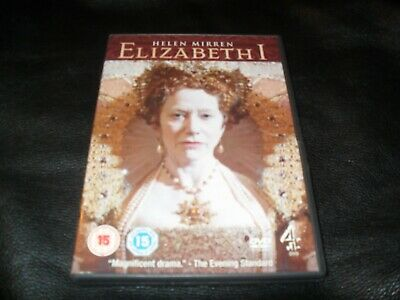 Channel 4's Elizabeth 1 Helen Mirren X2 Disc Set Drama Official Uk Region Dvd • 3.29£