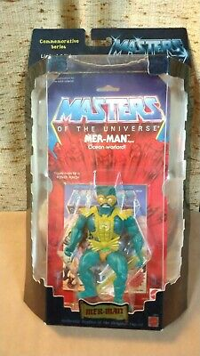 $60 • Buy NEW MOTU Commemorative Series MER-MAN Masters Of The Universe 2000