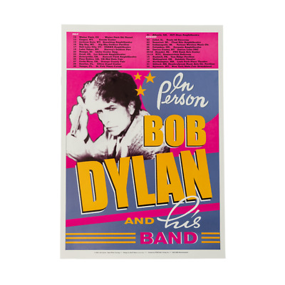 $19.99 • Buy Bob Dylan And His Band 14 X 20 Licensed Concert Poster 2019 New York City