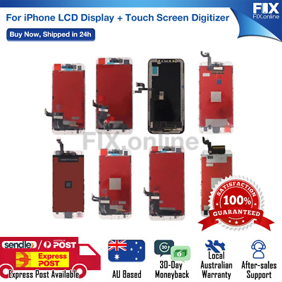AU22.88 • Buy For Apple IPhone 4 5 6 6S 7 8+ X LCD Touch Screen Replacement Digitizer Display