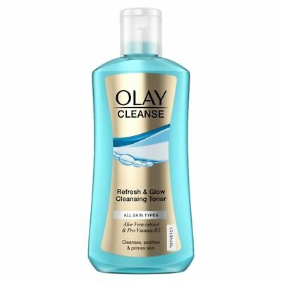 AU16.42 • Buy Olay Refresh & Glow Cleansing Toner 200ml - All Types Of Skin