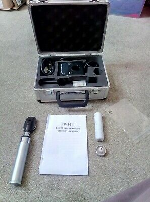 TW-2411 Ophthalmoscope With Hard Case - Ophthalmoscopy / Pre-hospital / Trauma • 20£