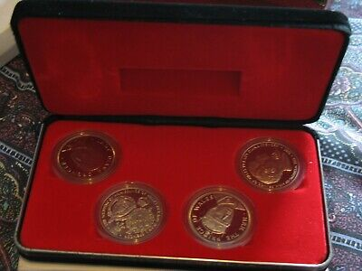 Set Of 4 Coins1981 ROYAL WEDDING OF CHARLES AND DIANA COMMEMORATING THE MARRIAGE • 6.50£