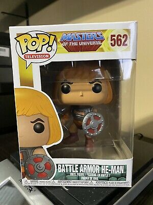$13.75 • Buy Funko POP! Television Masters Of The Universe Battle Armor He-Man #562