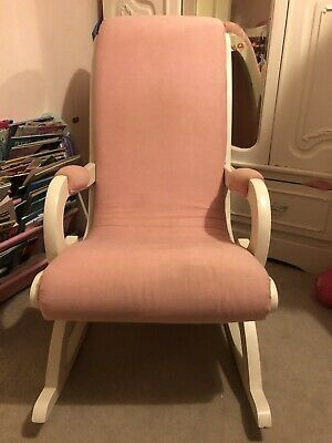 Rocking Chair Pink Vintage Nursing Nursery Chair • 20£