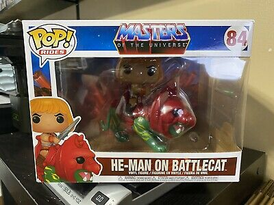 $25 • Buy Funko POP! Rides Masters Of The Universe He-Man On Battle Cat #84