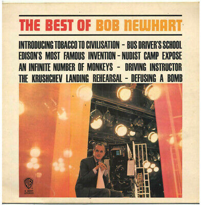 Bob Newhart - The Best Of... - Uk Lp Ex+ • 3.99£