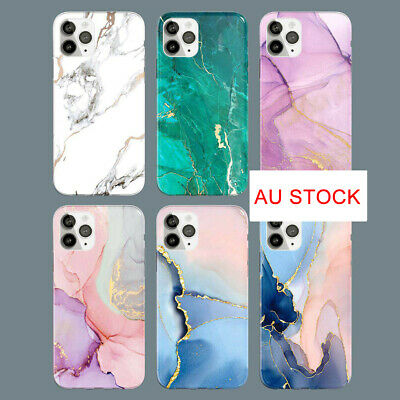 AU8.98 • Buy Slim Fit Cute Marble Case Cover For IPhone 11 12 Pro Max 12 Mini Xs Plus 2020