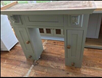 New Pine Freestanding Kitchen Units - 4 Items - Farrow & Ball Hand Painted • 325£