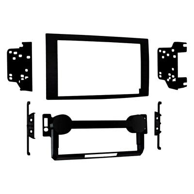 $33.65 • Buy For Jeep Grand Cherokee 05-07 Metra Double DIN Matte Black Stereo Dash Kit