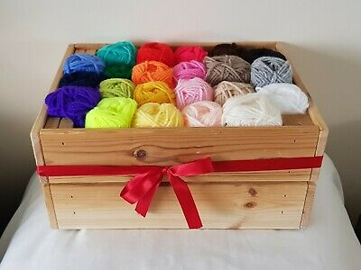 Double Knitting Wool, 25g Ball In Various Colours • 0.99£