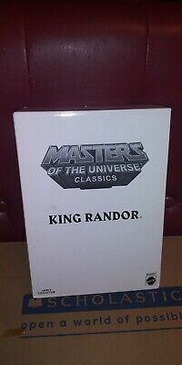 $34.95 • Buy Masters Of The Universe Classics Filmation King Randor MOTUC NEW Mattel He-Man