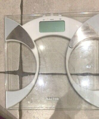 Salter Bathroom Weighing Scales Used • 5£