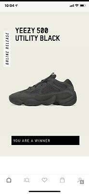 $ CDN349.89 • Buy Yeezy 500 Utility Black Size 11 CONFIRMED ORDER
