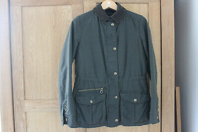 Ladies Womens Joules Wax Jacket Size 10 • 59£