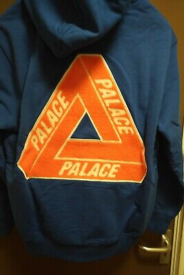 Brand New Palace Chenille Hoodie DS Size L Royal Blue. Tri Ferg  • 65£