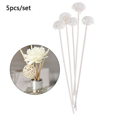 AU11.45 • Buy 5pcs Flower Rattan Reeds Fragrance Diffuser Non-fire Replacement Refill St JvO_H