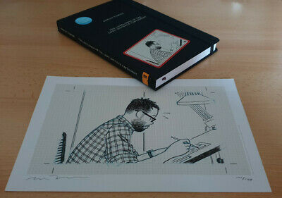 The Loneliness Of Long Distance Cartoonist Adrian Tomine With SIGNED LTD Print • 30£
