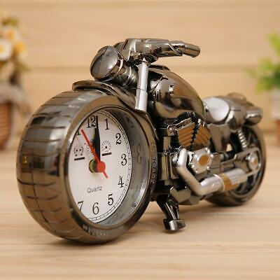 Motorcycle Motorbike Alarm Clock Desk Table Clock Birthday Christmas Gift Cool  • 6.90£