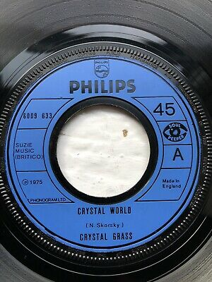 Crystal Grass - Crystal Word - Philips : Funk Disco Soul From 1975, Near Mint • 0.99£