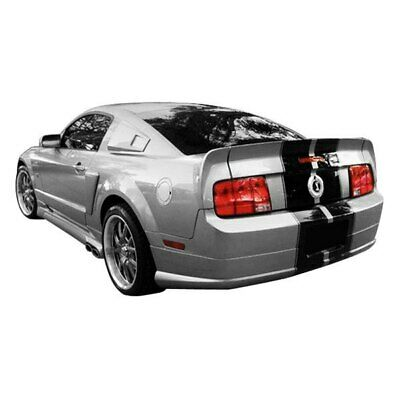 $142.36 • Buy For Ford Mustang 05-09 Rear Bumper Lip Under Air Dam Spoiler CVX Style