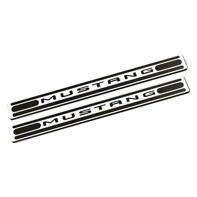 $209.48 • Buy For Ford Mustang 05-14 DefenderWorx 900713 Two Tone Door Sills W Mustang Logo