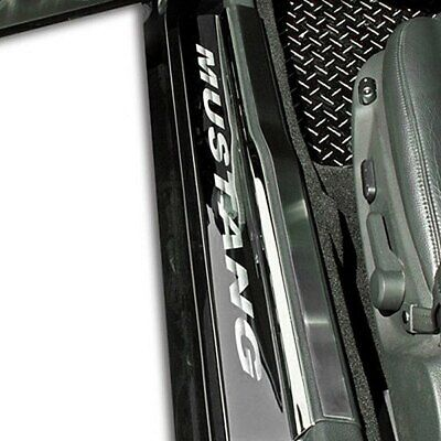 $133.61 • Buy For Ford Mustang 2005-2009 ACC 271004 Polished Door Sills W Mustang Logo