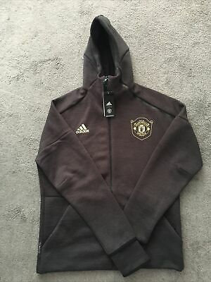 Manchester United Player Issue Adidas ZNE HD 3.0 Hoodie Large • 75£
