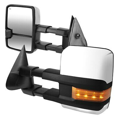$165.60 • Buy For Chevy Silverado 2500 HD 01-02 Towing Mirrors Driver & Passenger Side Power