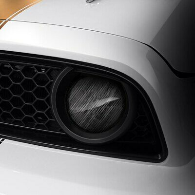 $60.54 • Buy For Ford Mustang 2005-2009 GTS GT0242FX Carbon Fiber Look Fog Light Covers
